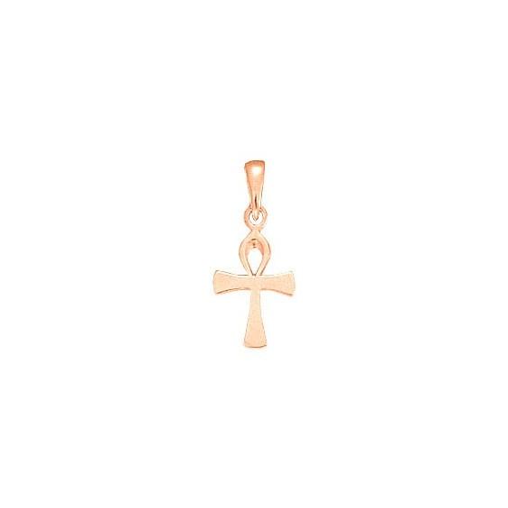Pendentif Ankh Or 18 carats rose -  24 MM - La Petite Française