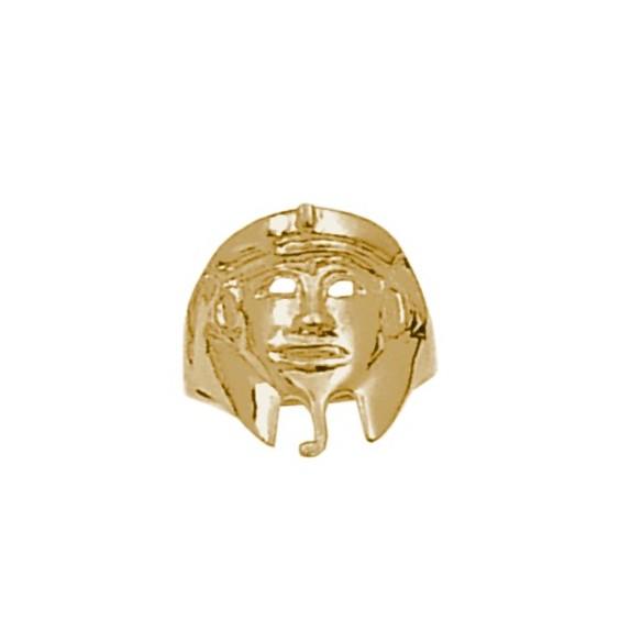 Bague Pharaon Or 14 carats jaune - La Petite Française