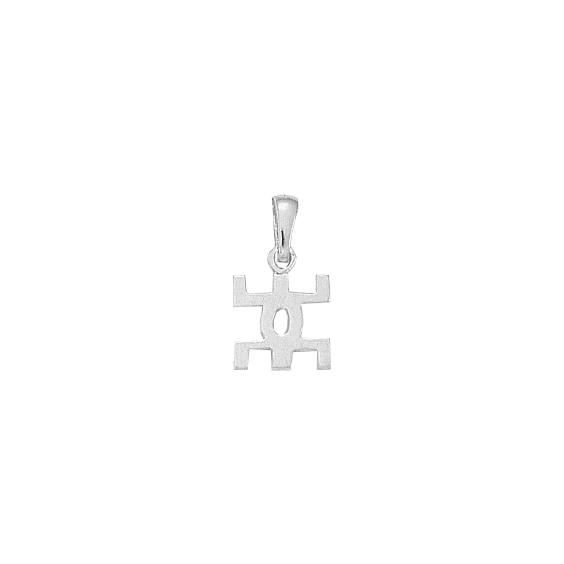 Pendentif symbole Berbère Or 14 carats gris - 20 MM - La Petite Française