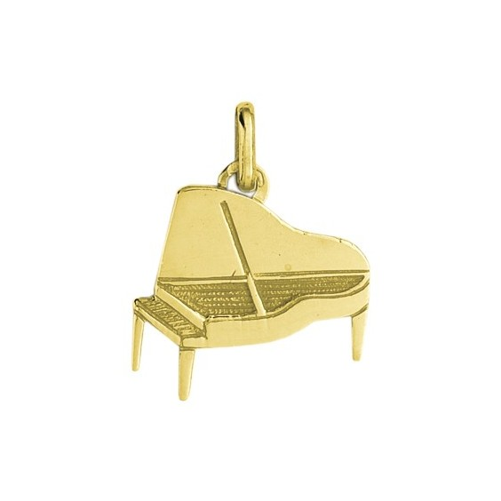 Pendentif piano Or 18 carats jaune - La Petite Française