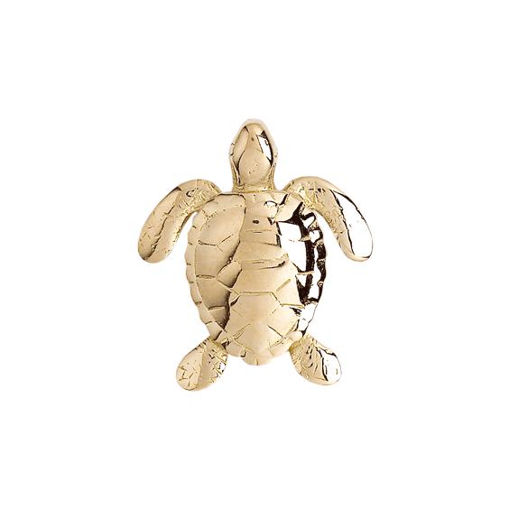 Pendentif tortue marine  Or 18 carats jaune - La Petite Française