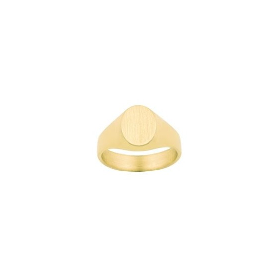 Chevalière Sacha Or 18 carats jaune - La Petite Française