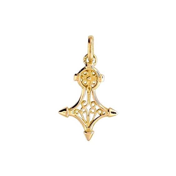 Croix du sud filigrane Or 18 carats jaune - 25 MM - La Petite Française