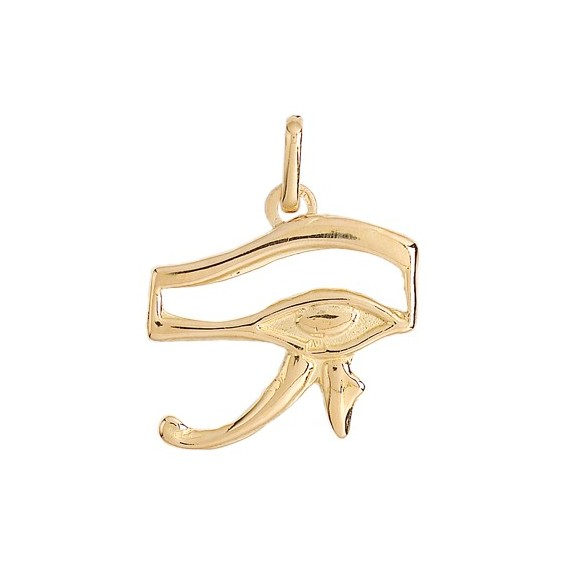 Pendentif oeil d'Horus Or 18 carats jaune - La Petite Française