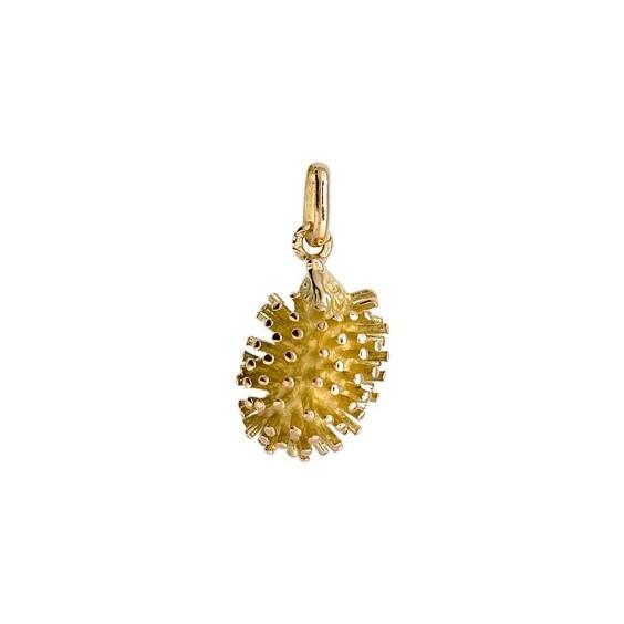 Pendentif hérisson Or 18 carats jaune - La Petite Française