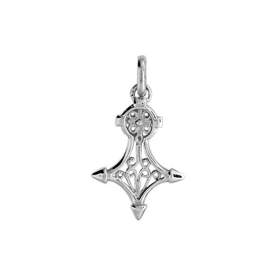 Croix du sud filigrane Or 18 carats gris - 25 MM - La Petite Française