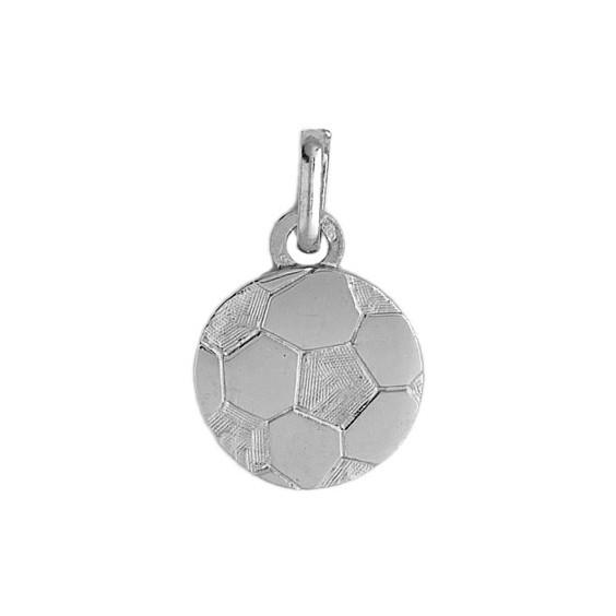 Pendentif ballon football Or 9 carats gris - La Petite Française