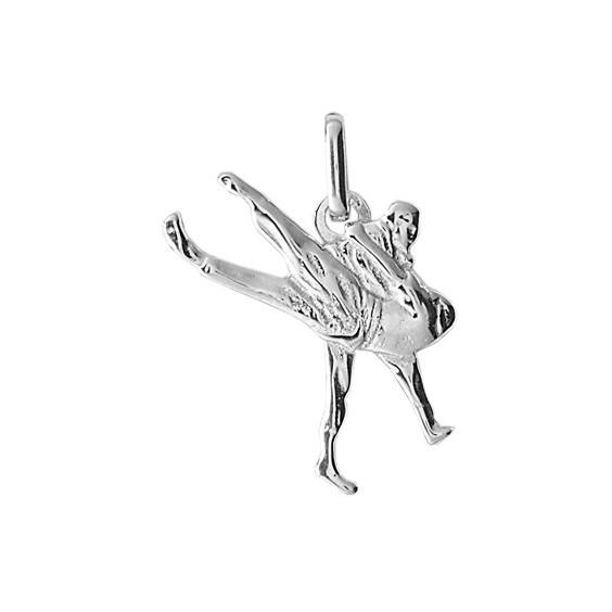 Pendentif judo Or 9 carats gris - La Petite Française