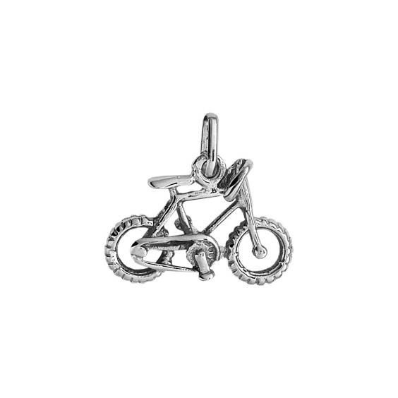 Pendentif VTT Or 9 carats gris - La Petite Française