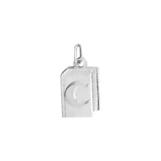 Pendentif Coran Or 9 carats gris - La Petite Française
