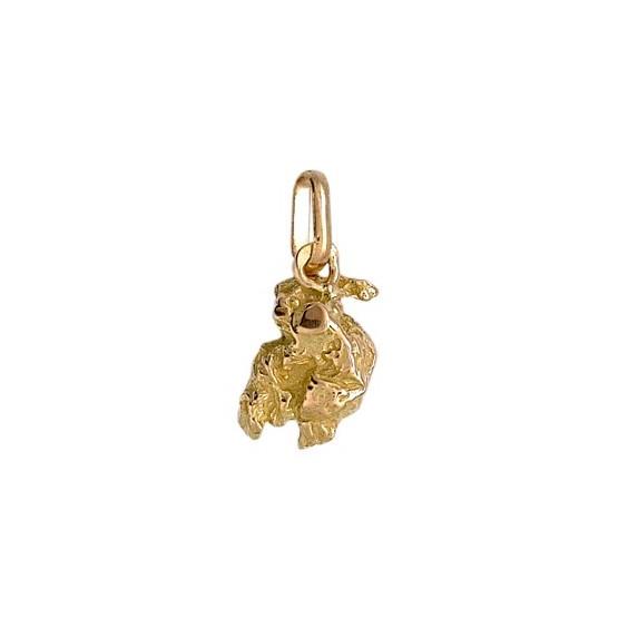 Pendentif pépite Or 9 carats jaune- 18 MM - La Petite Française
