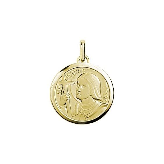 Médaille Jeanne d'Arc Or 9 carats jaune - La Petite Française