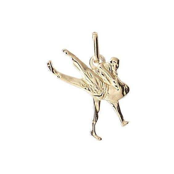 Pendentif judo Or 9 carats jaune - La Petite Française