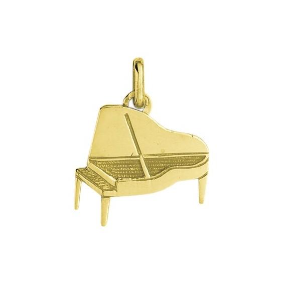 Pendentif piano Or 9 carats jaune - La Petite Française