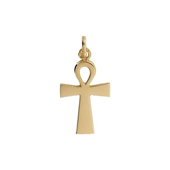Pendentif Ankh Or 9 carats jaune - La Petite Française