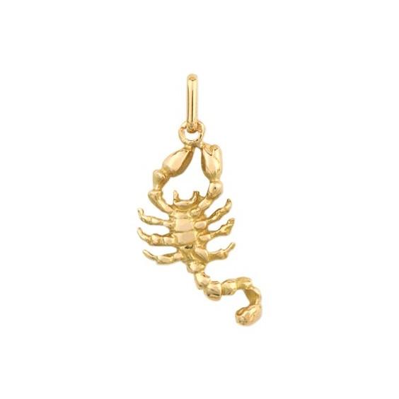 Pendentif scorpion Or 9 carats jaune - La Petite Française