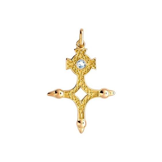 Croix du sud diamant Or 9 carats jaune - La Petite Française