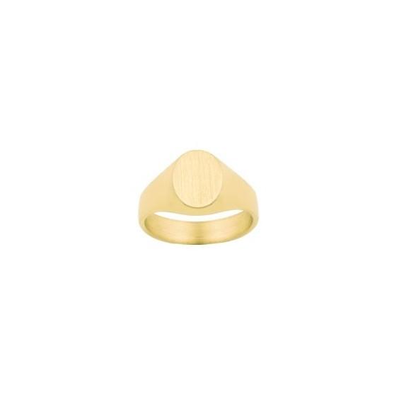 Chevalière Sacha Or 9 carats jaune - La Petite Française