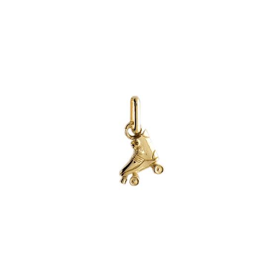 Pendentif roller or 9 carats jaune - La Petite Française