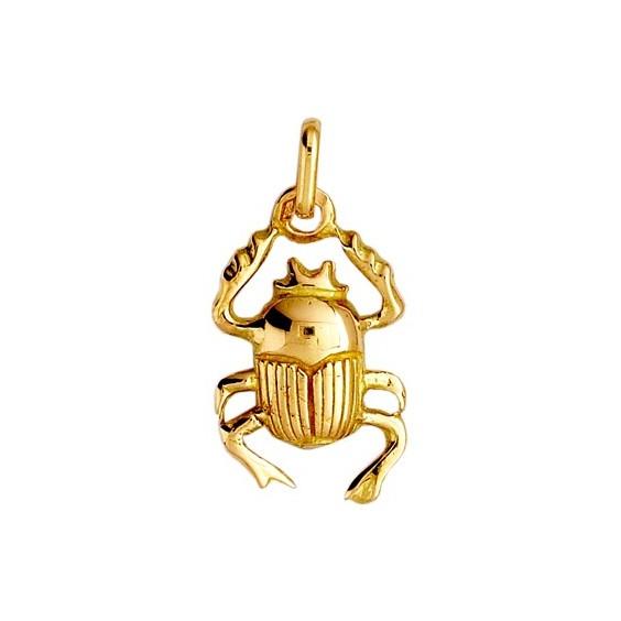 Pendentif scarabée Or 9 carats jaune - La Petite Française