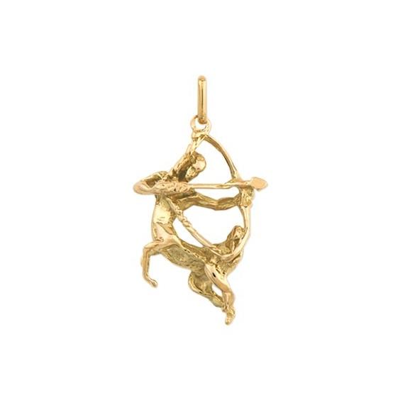 Pendentif sagittaire Or 9 carats jaune - La Petite Française