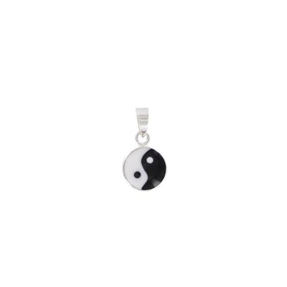 Pendentif Yin-Yang en argent
