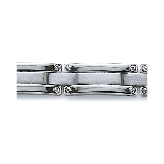 Bracelet Mayeul acier - La Petite Française