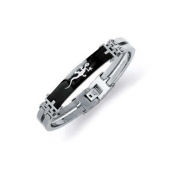 Bracelet salamandre en acier - La Petite Française