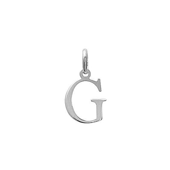 Pendentif lettre G argent - La Petite Française