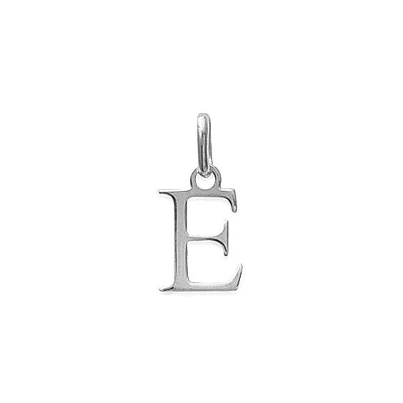 Pendentif lettre E argent - La Petite Française