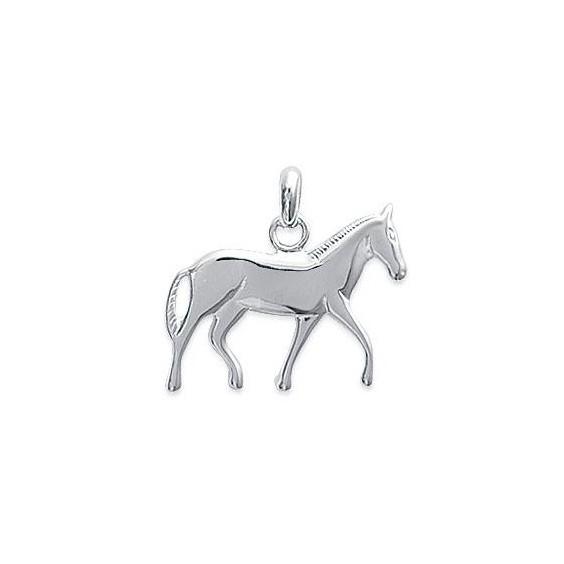 Pendentif cheval argent - La Petite Française