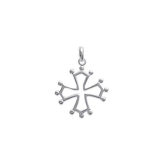 Croix Occitane argent - La Petite Française