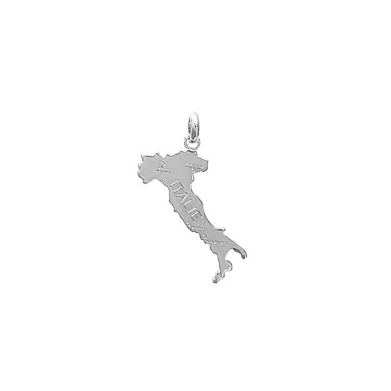 Pendentif Italie argent - La Petite Française