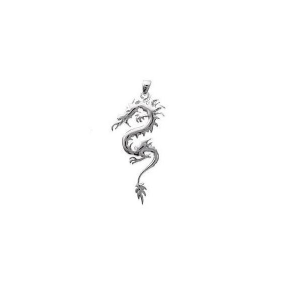 Pendentif dragon GM argent - La Petite Française