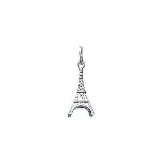 Pendentif tour Eiffel argent - La Petite Française
