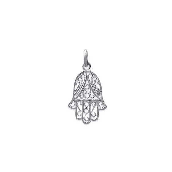 Pendentif main protectrice argent