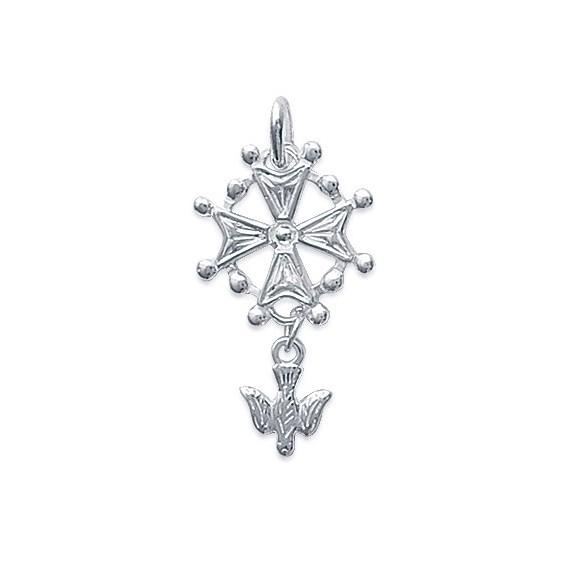 Croix Huguenote argent - La Petite Française