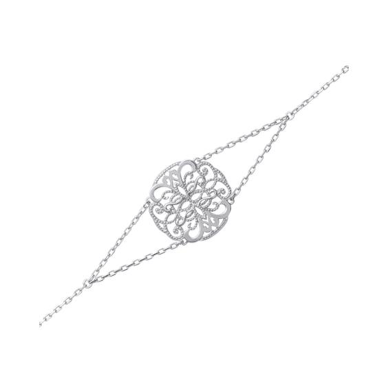 Bracelet Sabina argent - La Petite Française