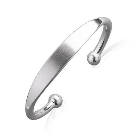 Bracelet jonc argent - La Petite Française