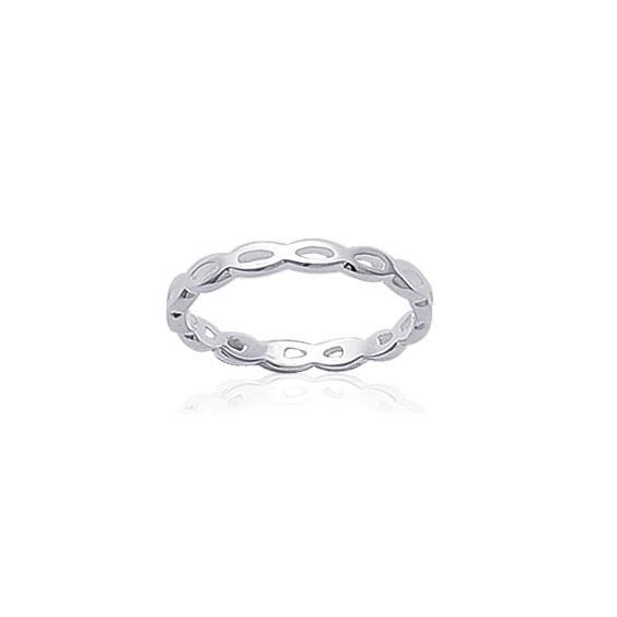 Anneau ovales argent - La Petite Française