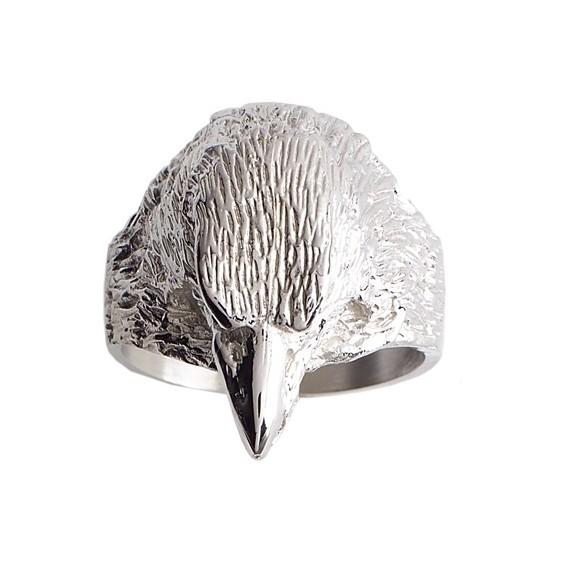 Chevalière aigle argent - La Petite Française