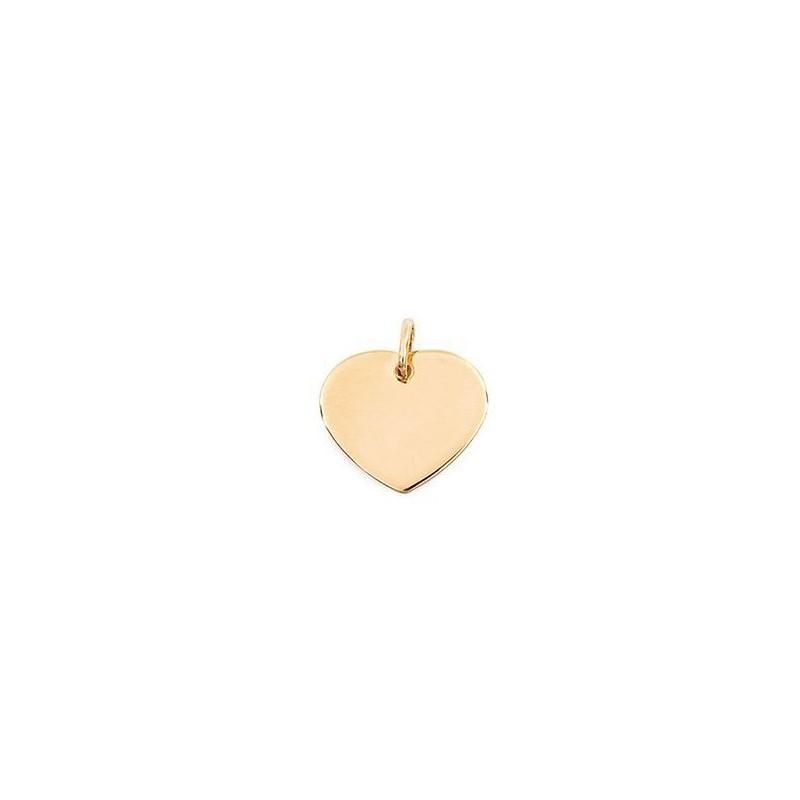 Pendentif Coeur plaqué or - La Petite Française