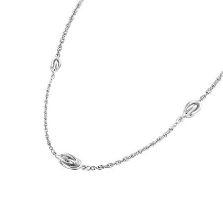 Collier forçat ou noeud antillais argent  - La Petite Française