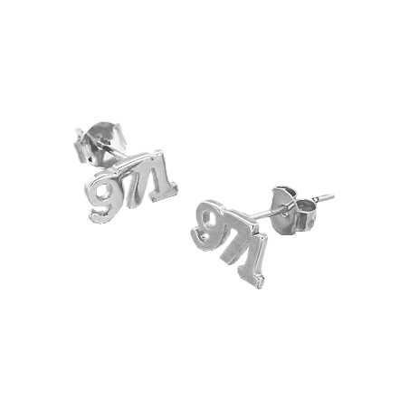 Boucles d'oreilles 971 Argent - La Petite Française