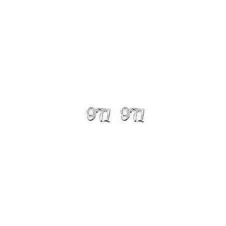 Boucles d'oreilles Guadeloupe 971 argent - La Petite Française