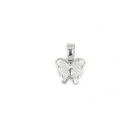 Pendentif papillon argent - La Petite Française