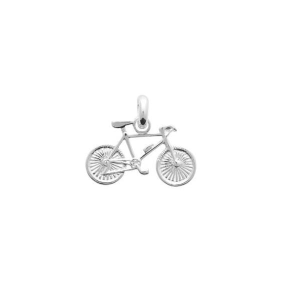 Pendentif vélo argent - La Petite Française