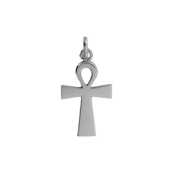 Pendentif Ankh Or 18 carats gris - La Petite Française