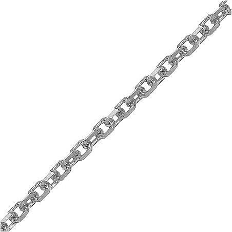 Chaîne forçat argent 2.2 mm - 60 cm - La Petite Française