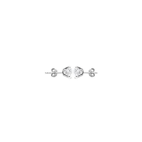 Boucles d'oreilles oxyde 8 mm argent - La Petite Française